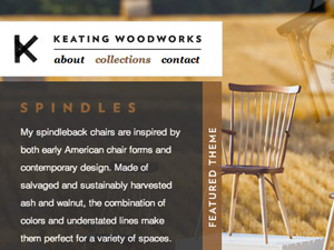Keating Woodworks Website