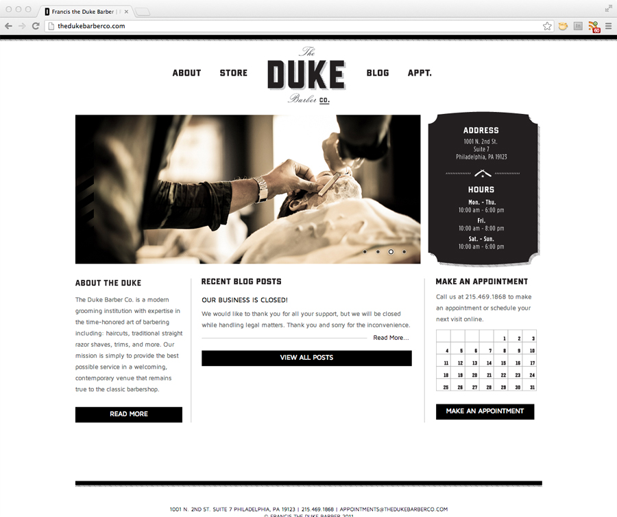 The Duke Barber Co