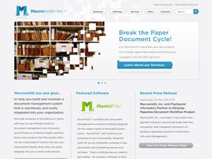 Macrosmith, Inc. Website
