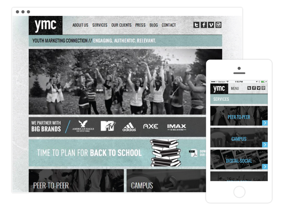 YMC Home Page