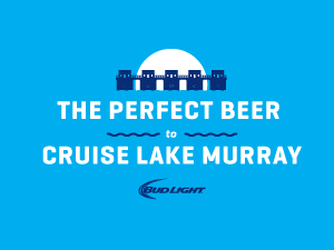 Bud Light Cruise Ship Graphic