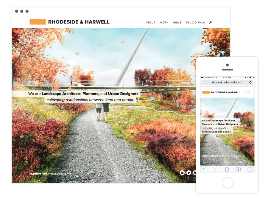 Rhodeside & Harwell Home Page
