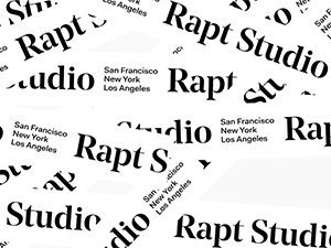 Rapt Studio Website